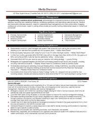Hospitality Management Resume Objective Hospitality Management