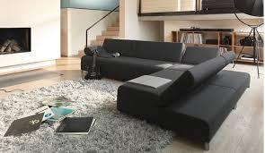 dark black sleeper sofa beds in contemporary living