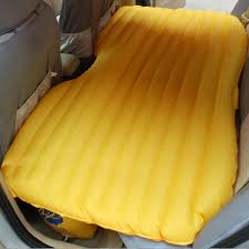 Backseat Inflatable Bed Sleep Comfortably In Your Cars Backseat With This Specially