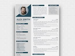 Curriculum Vitae Samples Free Modern Curriculum Vitae Template By Andy Khan On Dribbble