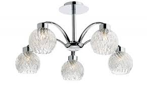 aachen 5 light polished chrome