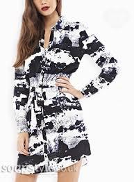 whitney black white. The Black \u0026 White Shirt Dress Worn By Whitney In EastEnders