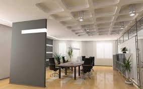 sightly office decorating ideas with wooden table also bookshelf wide room fair rectangle black chairs appealing small space living