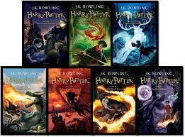 the new book covers of harry potter