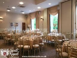 gold and white vintage wedding decor