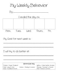 Behavior Chart 2 Pdf Google Drive Classroom Behavior
