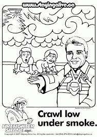 Small Picture Fire Safety For Kids Coloring Pages Photos Coloring Fire Safety
