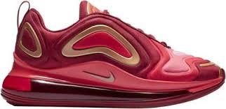 Boys Nike Air Max 720 Grade School Team Crimson Met Red