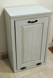 double tilt out wood trash can recycle bin cabinet bins wooden box to wooden tilt trash bin