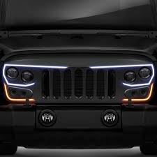 oracle lighting 1 pc vector led matte black cnc machined main grille