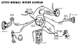 77 kz 750 simplified wiring diagram kawasaki motorcycle forums i m trying to wire up a 77 kz750 it will be kick only headlight and taillight i m using this diagram but i have a question