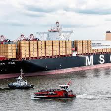 4 watchers3.2k page views89 deviations. Taufe In Hamburg Weltgrosstes Containerschiff Msc Zoe Rekordhalterin Auf Zeit Shz De