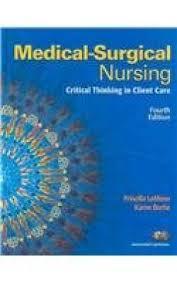 9780136005858: Medical-Surgical Nursing: Critical Thinking in Client Care,  Single Volume with Mynursinglab (Access Card) - AbeBooks - Lemone; LeMone, Priscilla;  Burke, Karen M.: 0136005853