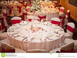 Wedding Reception Tables Royalty Free Stock Photo Image 13854775
