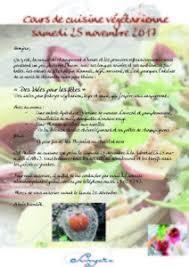 Cours De Cuisine Végétarienne Samedi 25 Novembre Albi