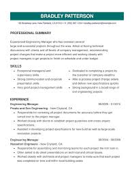 Management Skills Resume Unique Engineering Combination Resume Resume Help