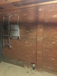 Garage Is It Likely That This Single Skin Brick Wall Can Support A