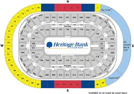 Us Bank Seating Chart Heritage Bank Center