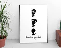 african american print afro puffs print little black girls print black art on little black girl wall art with african american art for childrens room cute room decor little