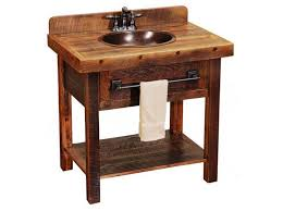 rustic bathroom sink cabinets. Image Of: Small Rustic Bathroom Vanities Rustic Bathroom Sink Cabinets A