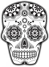 Small Picture Sugar Skull Coloring Pages to Print Free Agent Oso Coloring