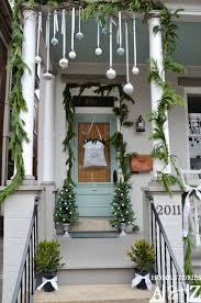 ... christmas porch idea