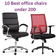 office chair guide. Top 10 Best Office Chairs Under 200 Of 2018 \u2013 Complete Guide Chair