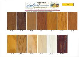 Wood Color Chart For Furniture Wvsdc Org