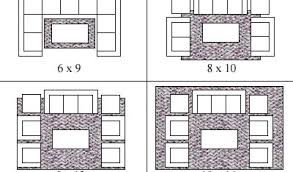 top area rug size for living room gen4congress pertaining to rug sizes for living room plan