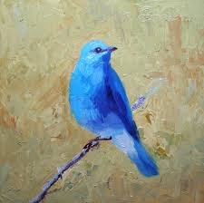 bluebird of happiness come by my way