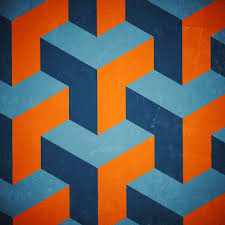 Seamless Isometric Graphic Pattern Graphic Patterns Graphic