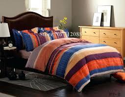 blue and orange comforter blue and orange duvet cover