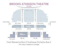 Brooks Atkinson Seating Chart Waitress Broadway Show Ticket In New York