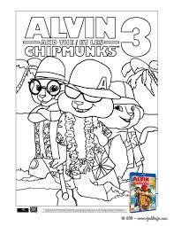 Coloriage Alvin Et Les Chipmunks 3 Coloriages Coloriage