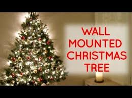This Wall Mounted Christmas Tree Is Perfect for Small Spaces | Utter ...