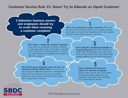At T Customer Service Customer Service Rule 1 Never Try To Educate An Upset Customer