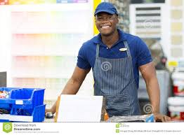 african paint store worker stock photo image  african paint store worker