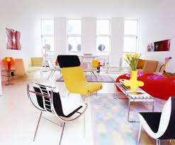 Colorful Interior Design interesting colorful living room themed with cozy chair and white 7595 by uwakikaiketsu.us