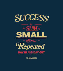Life Success Quotes 4 Amazing Quote Pictures Success Is The Sum Of Small Efforts