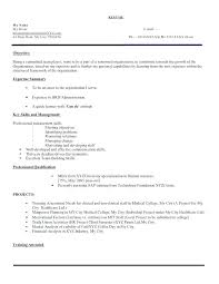 My Personal Resume Sample Resume For Business Administration
