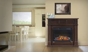 electric fireplace mantel entertainment package