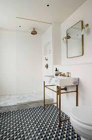 bathroom tile patterns black white bathroom