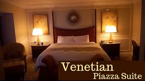 Venetian Piazza Suite YouTube - Venetian two bedroom suite