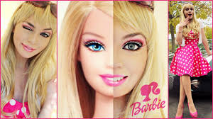 barbie makeup tutorial costume idea 2016 jackie wyers you