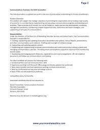 Adorable Resume Examples Executive Director Non Profit About