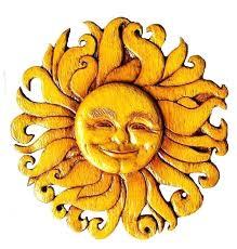 southwestern sun wall art