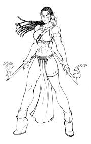 Chic Idea Spider Woman Coloring Pages Spiderwoman Colouring Pages ...