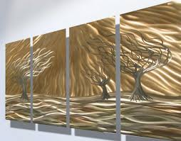 metal decorative wall art with contemporary shiny trees on rustic outdoor metal wall art with mirror wall art ideas decorative wall art ideas nisartmacka