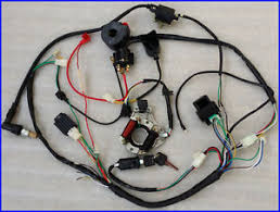 wire wiring harness loom 110cc 50cc 70cc 90cc pit pro trail dirt image is loading wire wiring harness loom 110cc 50cc 70cc 90cc