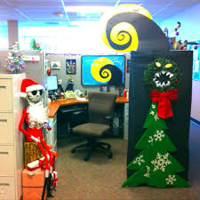 office cubicle christmas decorations. Brilliant Decorations My Nightmare Before Christmas Decorate Cubical Contest  Office Cubicle  Christmas Decorations Designcorner  Inside Cubicle Decorations